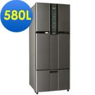 SAMPO 聲寶 530L變頻三門冰箱SR-A53DV(K2) 石墨銀
