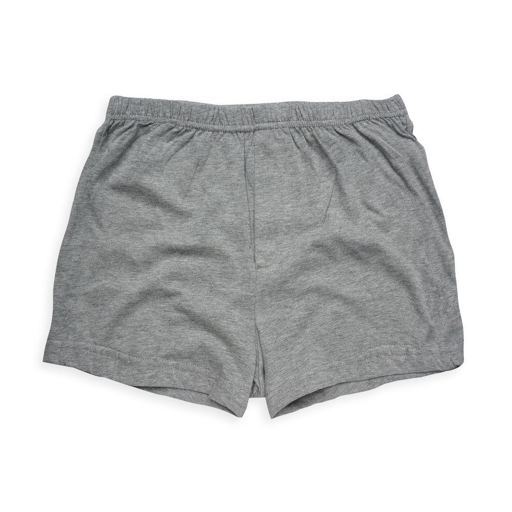 Annypepe 男童 素面平口褲_美國精梳棉 灰