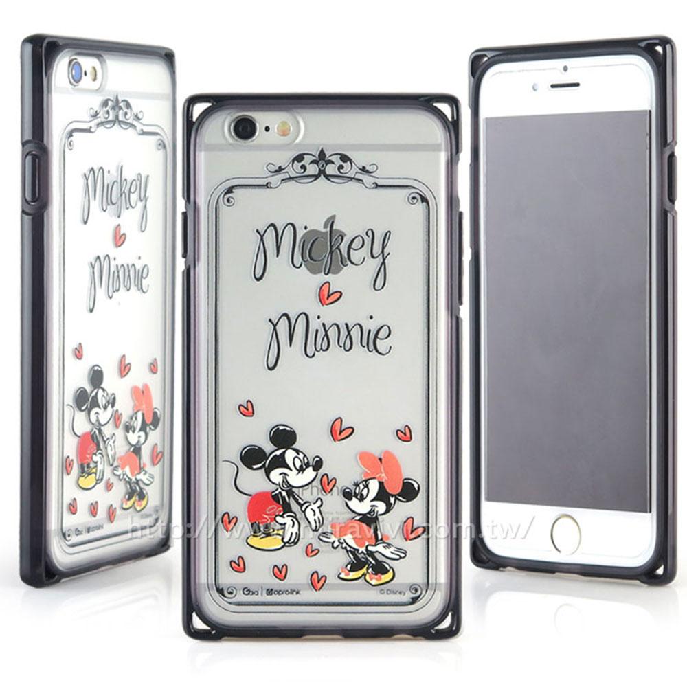 Disney iphone6 plus/6s plus耐衝擊雙料殼-手繪