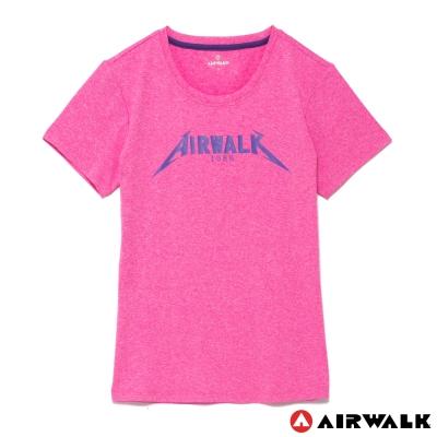 AIRWALK-女-圓領T恤