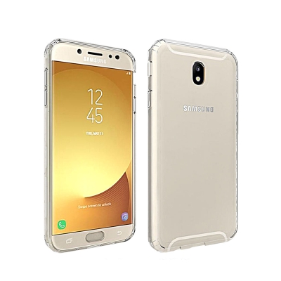QinD SAMSUNG Galaxy J7 Pro/J7(2017)雙料保護套