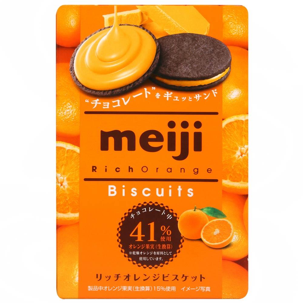 Meiji明治 柳橙夾心巧克力餅(96g)