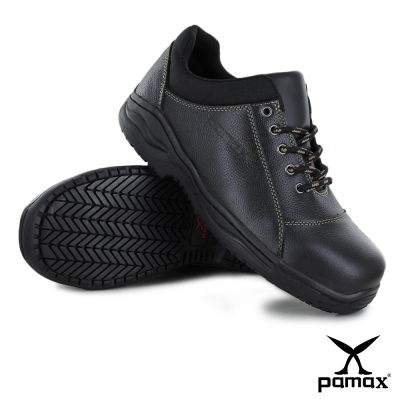 PAMAX 帕瑪斯鋼頭安全鞋 : 全牛皮打造的上選工作鞋(專利防護堅固大底結構)
