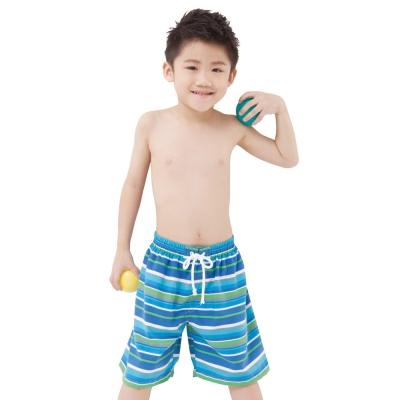 Aquanaut奧可那泳裝 藍彩條紋海灘褲