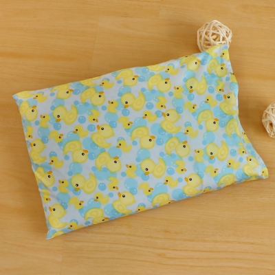 鴻宇HongYew 黃色小鴨-兒童標準乳膠枕 美國棉防蹣抗菌