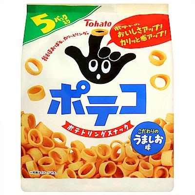 東鳩 手指圈圈餅5袋入(120g)
