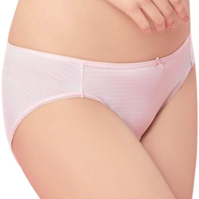 思薇爾 惹萌漾萌學趣系列M-XXL印花低腰三角內褲(歡樂粉)