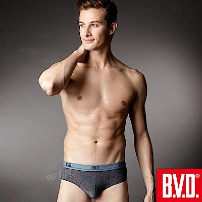 BVD 超透氣絲滑彈力三角褲(混色6入組)-台灣製造