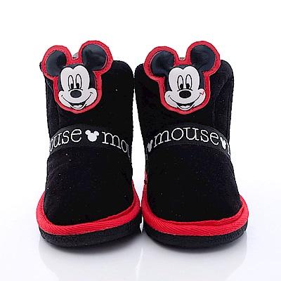 迪士尼童鞋 米奇短靴款 FO64656 黑 (中小童段)T1#20