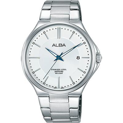 ALBA 玩轉時尚東京石英腕錶(AS9B47X1)-銀/40mm
