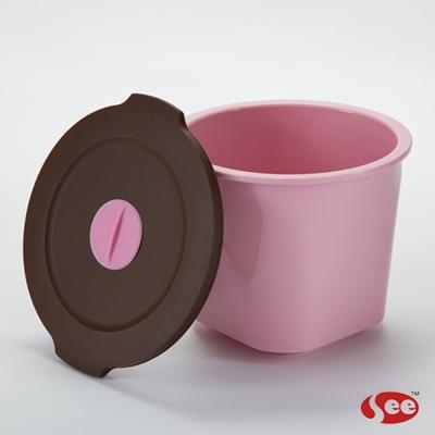 Breere 會呼吸的保鮮盒圓形1050ml(2色)
