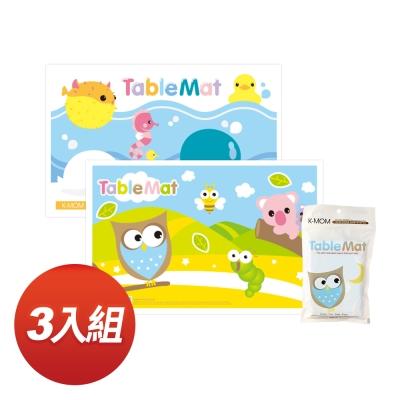KMOM寶寶抗菌餐桌墊(20入/包,共3包)