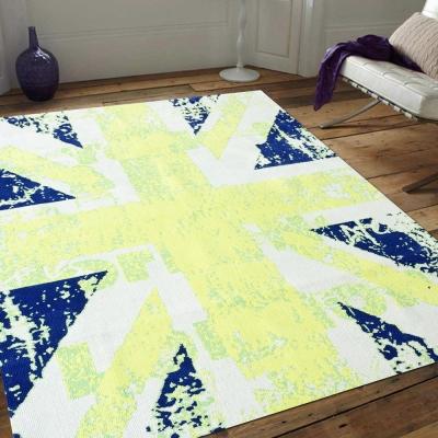 Ambience- Iris 超細纖維長毛地毯 -英倫風情(150x220cm)