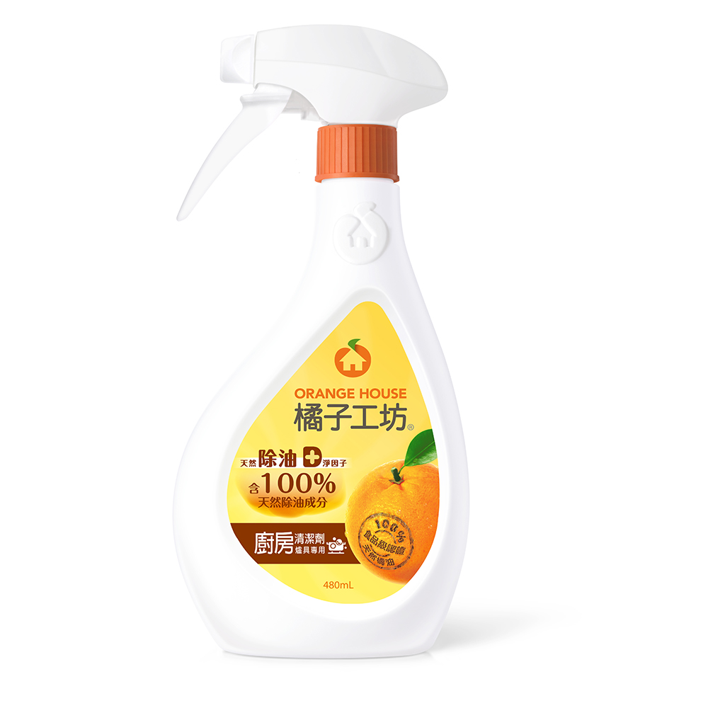 橘子工坊廚房烤爐清潔劑480ml