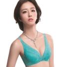 思薇爾 仲夏之夢系列B-E罩深V蕾絲包覆內衣(卡不里藍)