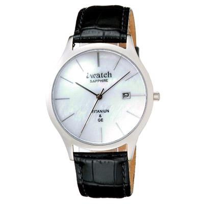 iwatch 『鈦』『鍺』能量腕錶 ((男女皆宜))