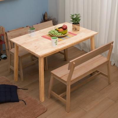 諾雅度 原生實木長方餐桌(不含椅)