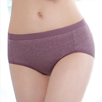曼黛瑪璉-紓壓好動 低腰三角日間生理褲M-XL(迷迭紫)
