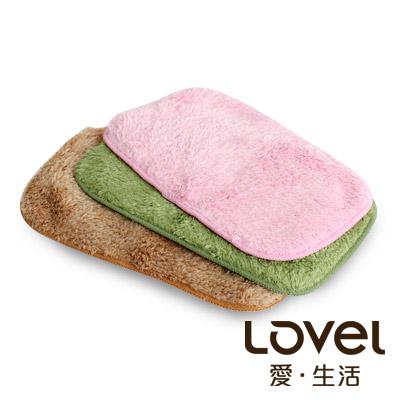 Lovel 超強吸水輕柔微絲多層次開纖紗手帕/小方巾3入(共6色)