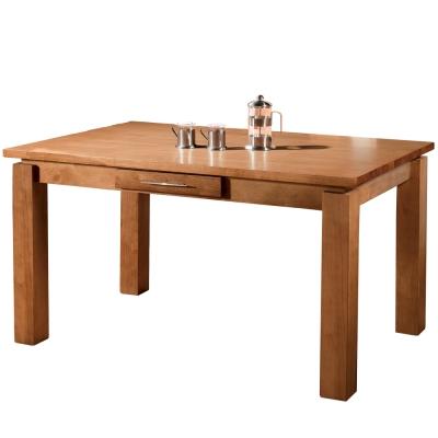 AT HOME-妙麗4.5尺全實木餐桌