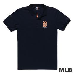 MLB-底特律老虎隊電繡POLO衫-深藍(男)