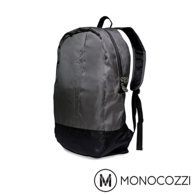 MONOCOZZI Lush Foldable Backpack 魔術折疊背包 - 深灰
