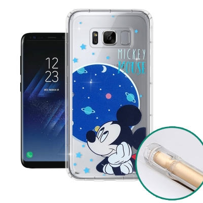 迪士尼正版 SAMSUNG Galaxy S8+ 空壓安全手機殼(米奇)