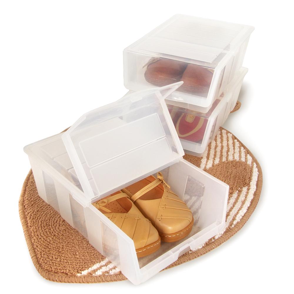 ★限時特賣★【鞋寶貝】全家鞋盒6入組(透明)
