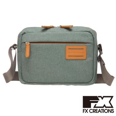FX CREATIONS-So-Seoul系列-橫式側背包-淺灰 YSD69604-21
