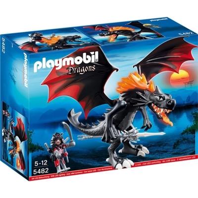 playmobil 龍城堡系列 巨龍與龍騎士(LED)