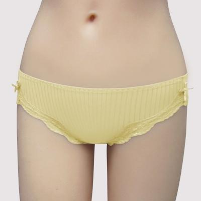 瑪登瑪朵-Soft Life簡約  低腰三角無痕褲(小麥黃)