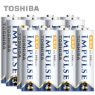 TOSHIBA IMPULSE 高容量低自放電電池(內附3號8入+4號8入)