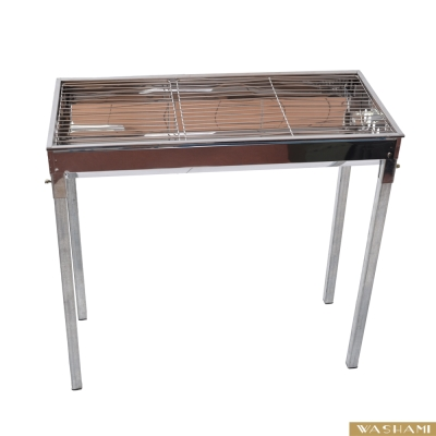 WASHAMl-哇沙米家庭號-不鏽鋼簡易燒烤架(升級版)