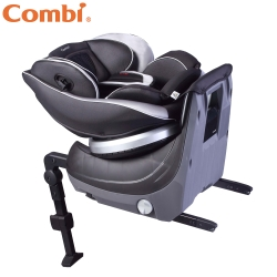 Combi Neroom Isofix新世代旗艦型旋轉式汽車安全座椅 公爵黑
