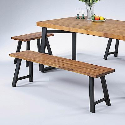 H&D 正柚木5.3尺長方凳 (寬160X深30X高45cm)