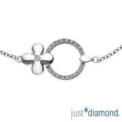 Just Diamond 18K金鑽石手鍊-Miracle
