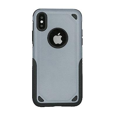 PKG Apple IPhone X 加強抗摔手機殼套-墨灰色