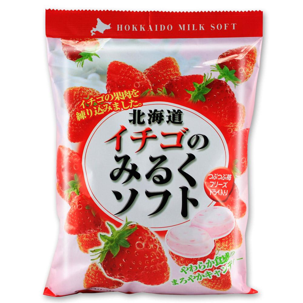 RIBON立夢 北海道草莓牛奶糖(300g)