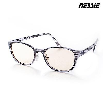 Nessie尼斯眼鏡 濾藍光眼鏡 英倫款 雲銀灰