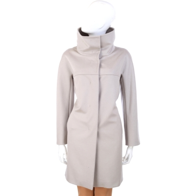 MARELLA 立領造型大衣外套(淺灰色)