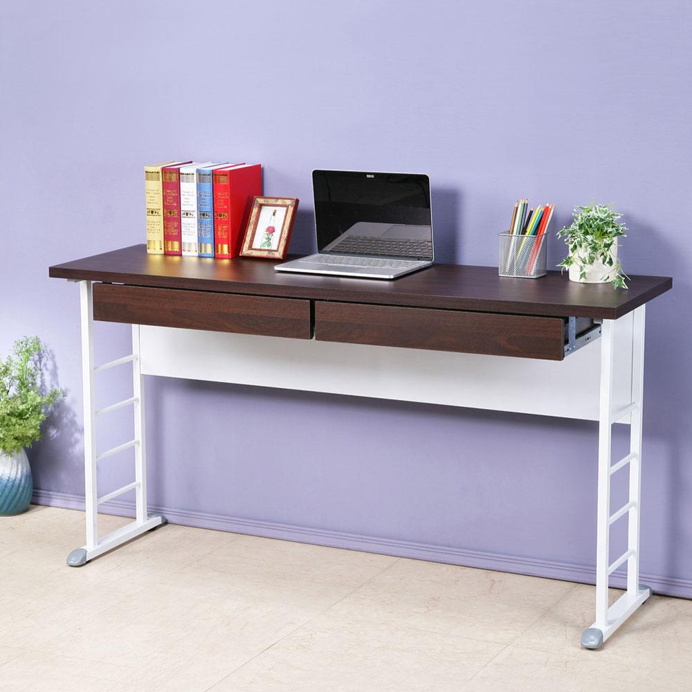 Homelike 查理140x40工作桌-加厚桌面(附二抽屜)
