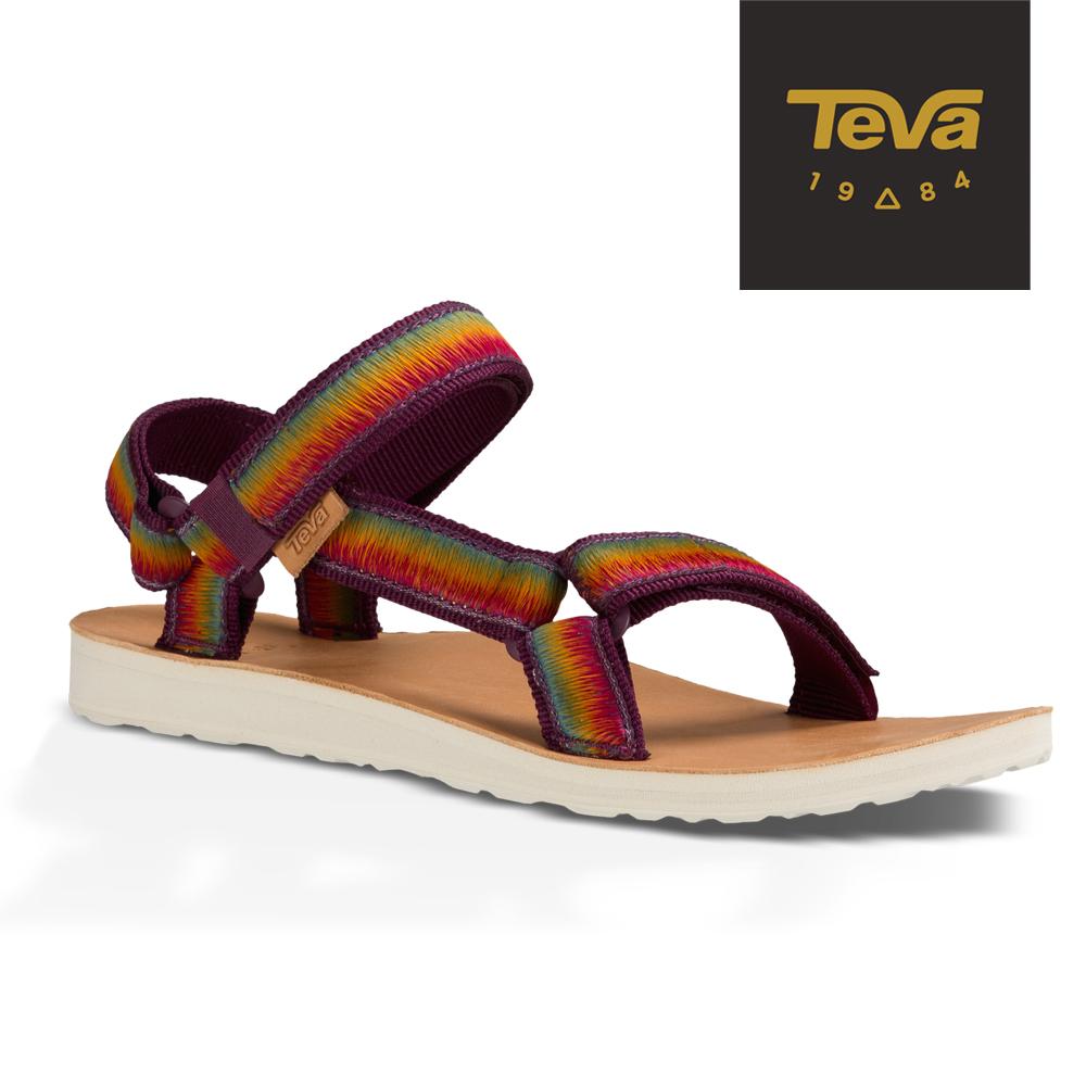 TEVA 美國-女 Original Universal 經典緹花涼鞋 (炫彩紫)