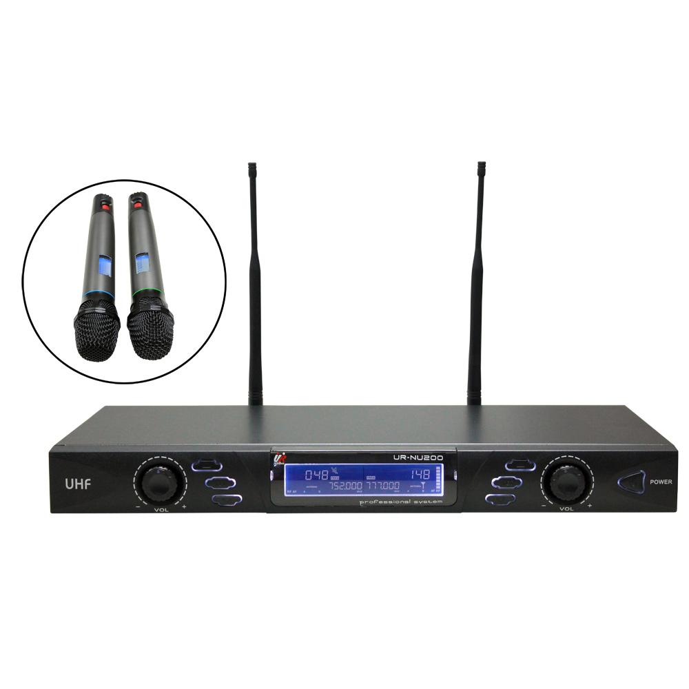 UR SOUND 專業用UHF雙頻道無線麥克風(URNU200)