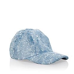 Alviero Martini地圖 棒球帽-天藍