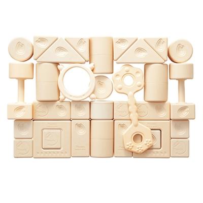 日本製People-新米的積木組合(0m+)(日製米製品玩具系列)(固齒器/彌月禮)