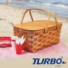 Turbo Tent - 木質美國手工精編野餐籃