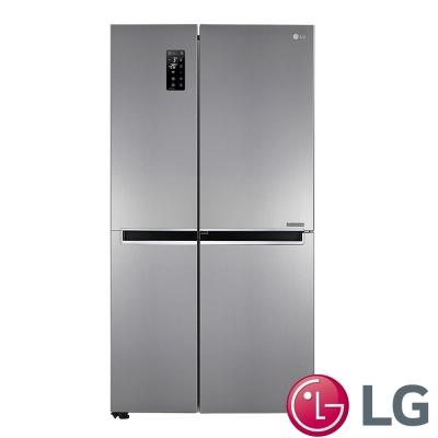 LG GR-DL80SV 830公升 WiFi門中門對開冰箱 精緻銀