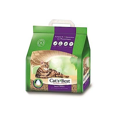 德國凱優優質凝結木屑粒5kg(紫標-長毛貓專用-10L)