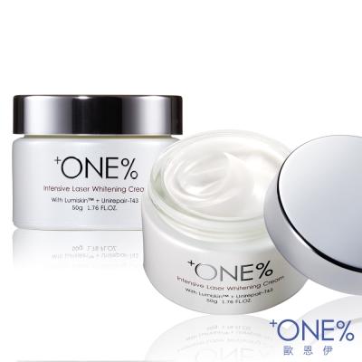 ONE-歐恩伊-超激光鑽白勻透乳霜50g-2入