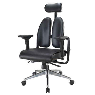 Bernice-德國專利雙背多機能皮面電腦椅-70x70x110~120cm